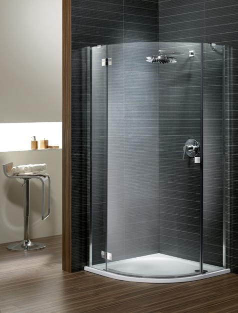 Almatea PDJ íves zuhanykabin