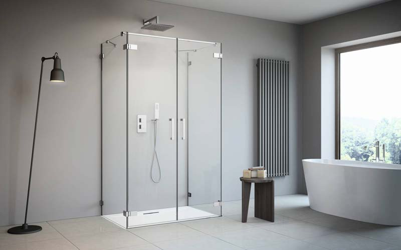 Radaway Arta DWD+2S szögletes zuhanykabin