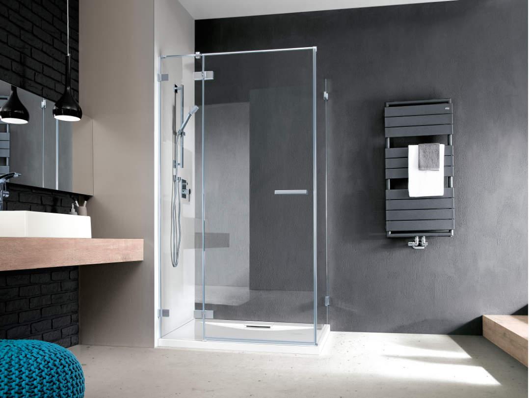 Radaway Euphoria-KDD szögletes zuhanykabin