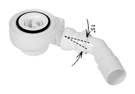 5SL1 Különleges zuhanyfolyóka szifon