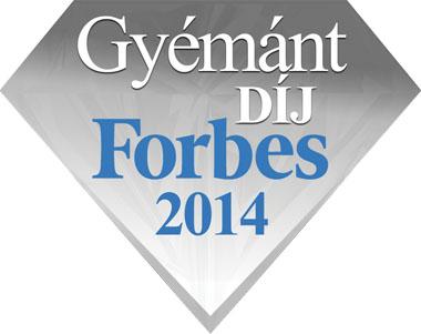 Forbes gyémánt díj