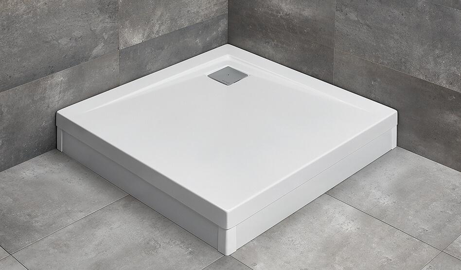 Radaway Argos C szögletes akril zuhanytálca