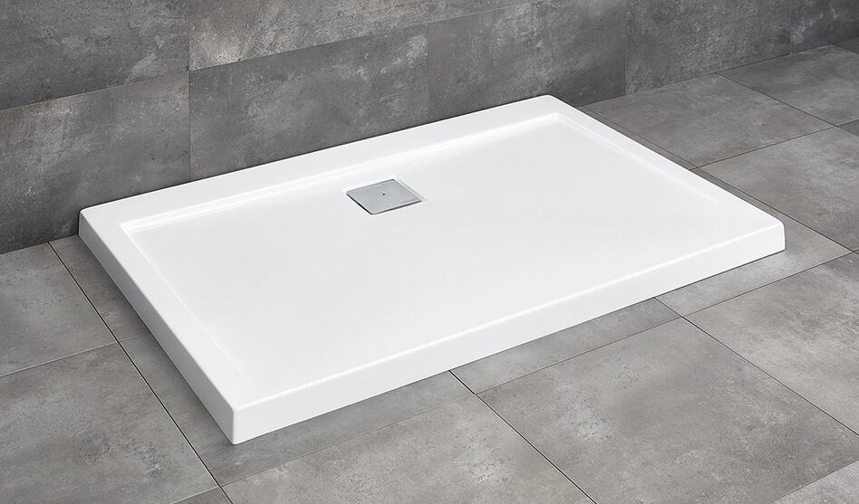 Radaway Argos D szögletes akril zuhanytálca