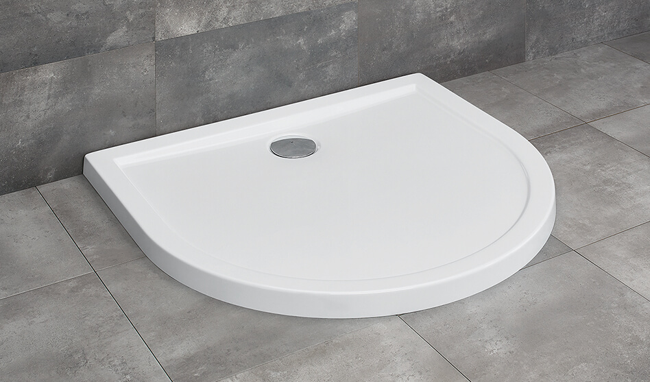 Radaway Delos D íves lapos akril zuhanytálca