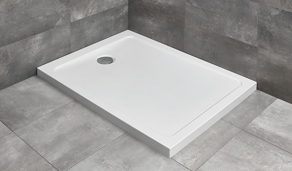 Radaway Doros F szögletes akril zuhanytálca