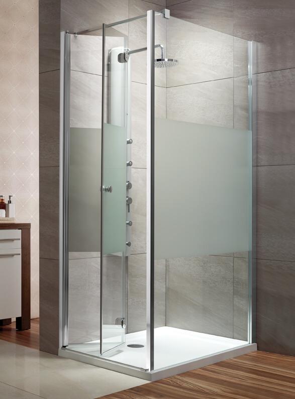 Radaway Eos KDJ-B szögletes zuhanykabin intimo üveggel