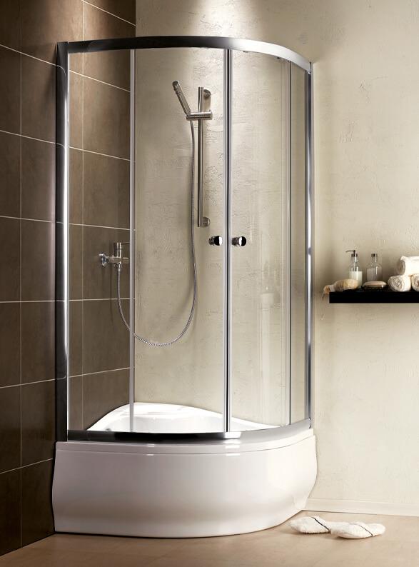 Radaway Korfu A magas íves zuhanytálca