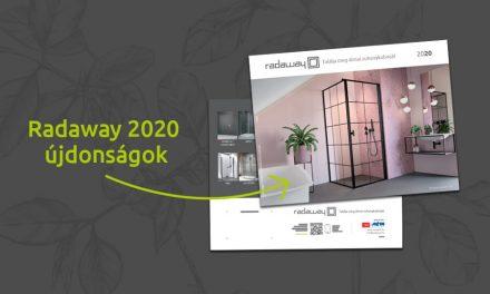 Megérkezett a Radaway 2020-as katalógusa – ismerje meg az idei év zuhanykabin újdonságokat!