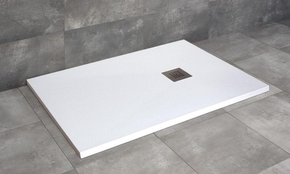 Radaway Kios F szögletes zuhanytálca fehér