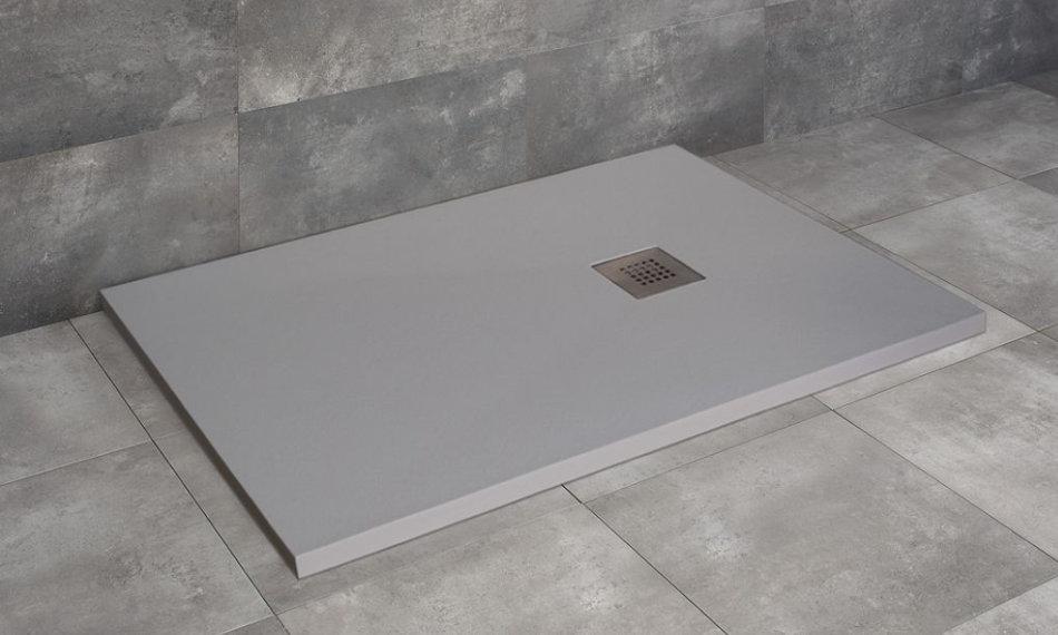 Radaway Kios F szögletes zuhanytálca szürke