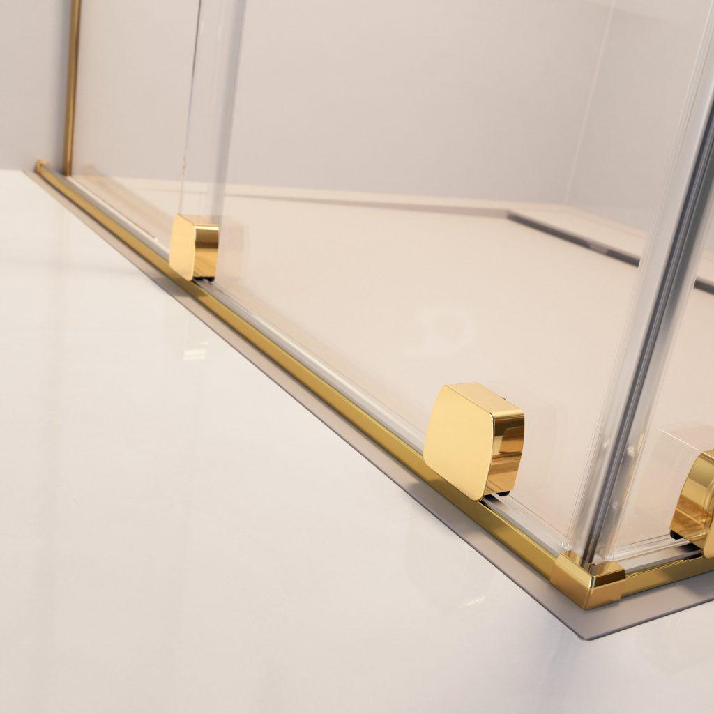FURO Gold arany zuhanykabin görgő rendszer