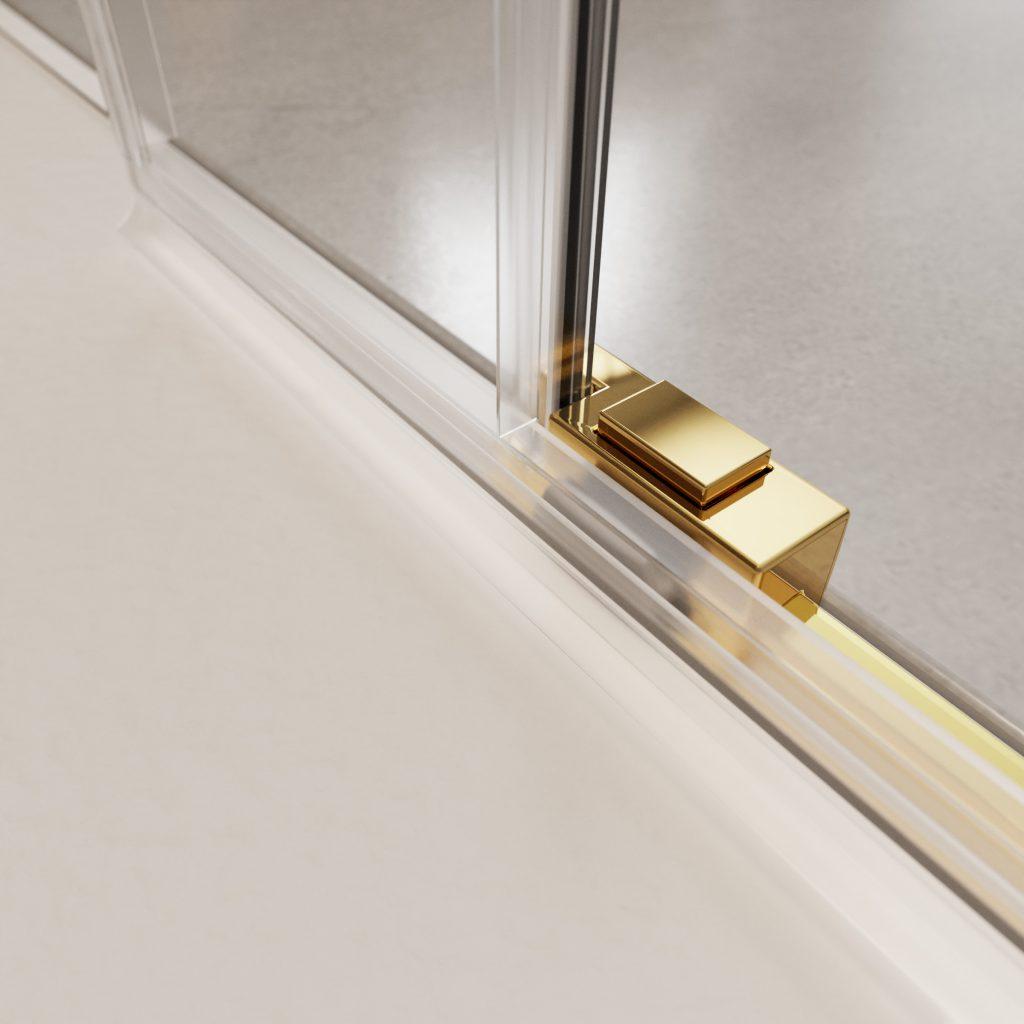 IDEA Gold arany zuhanykabin alsó csúszka