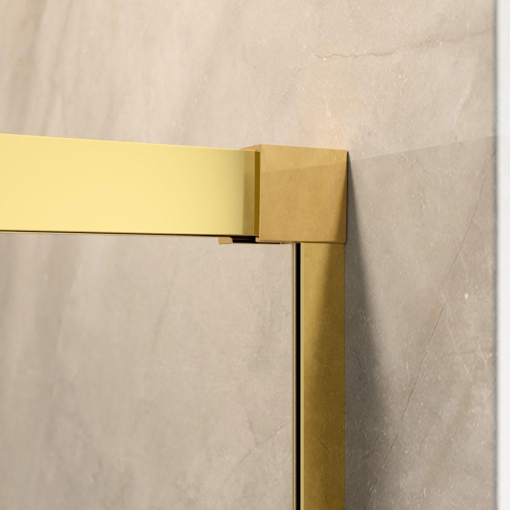 IDEA Gold arany zuhanykabin fali profil
