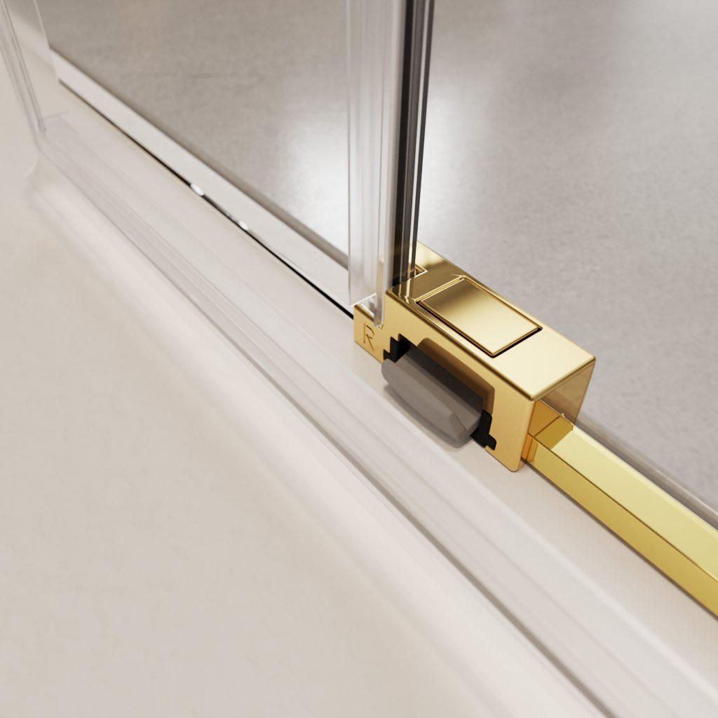 IDEA Gold arany zuhanykabin kiakasztható csúszka
