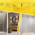Idén szintet lépett a zuhanykabinok luxuskategóriája – Mindent az arany zuhanykabinokról