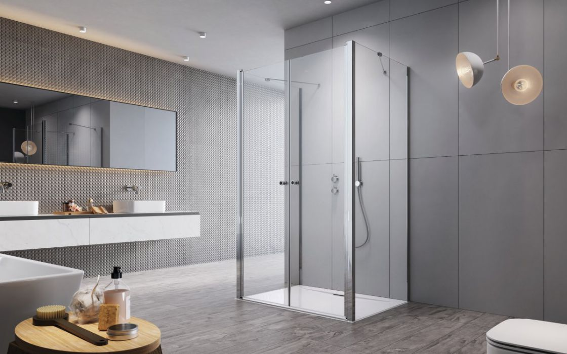 Eos DWD+2S II szögletes zuhanykabin