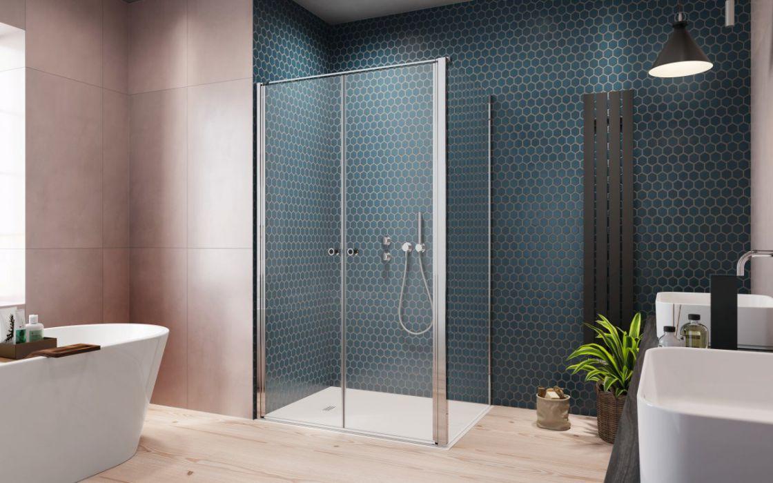 Eos DWD+S II szögletes zuhanykabin