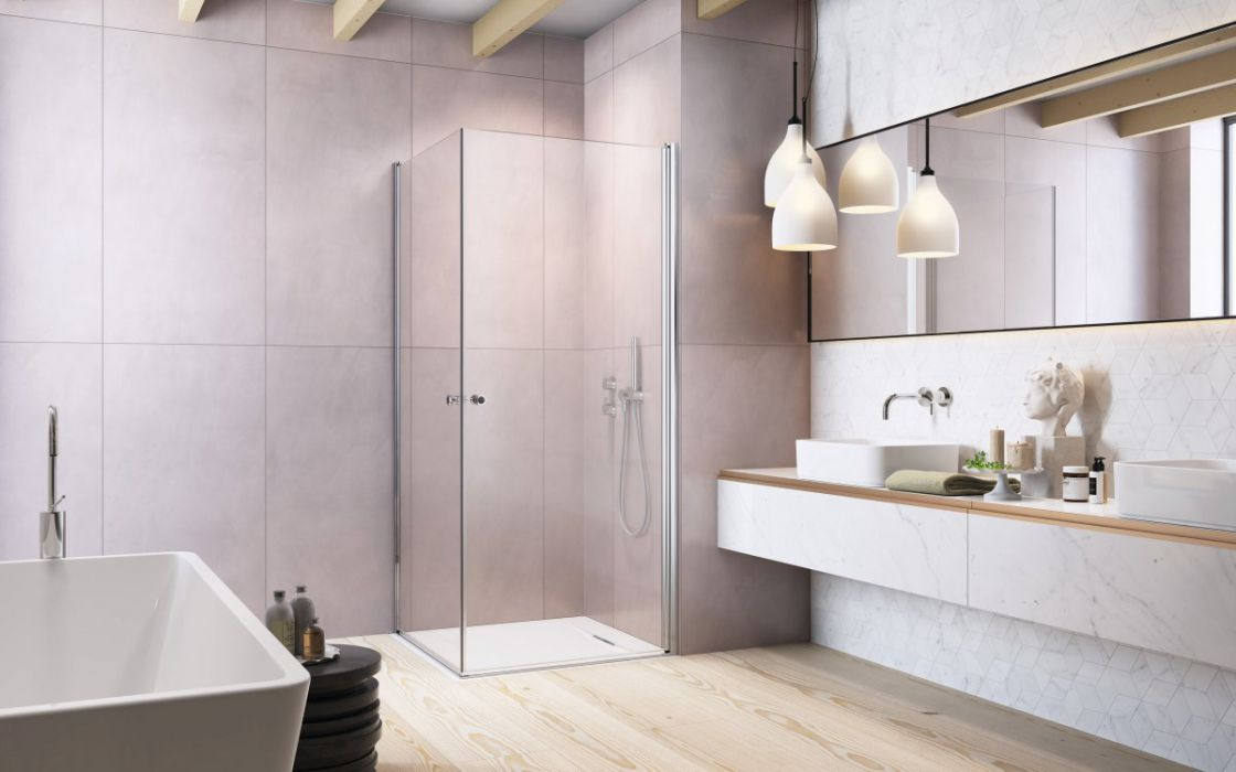Eos KDD I szögletes zuhanykabin