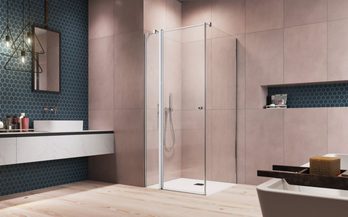 Eos KDS II szögletes zuhanykabin