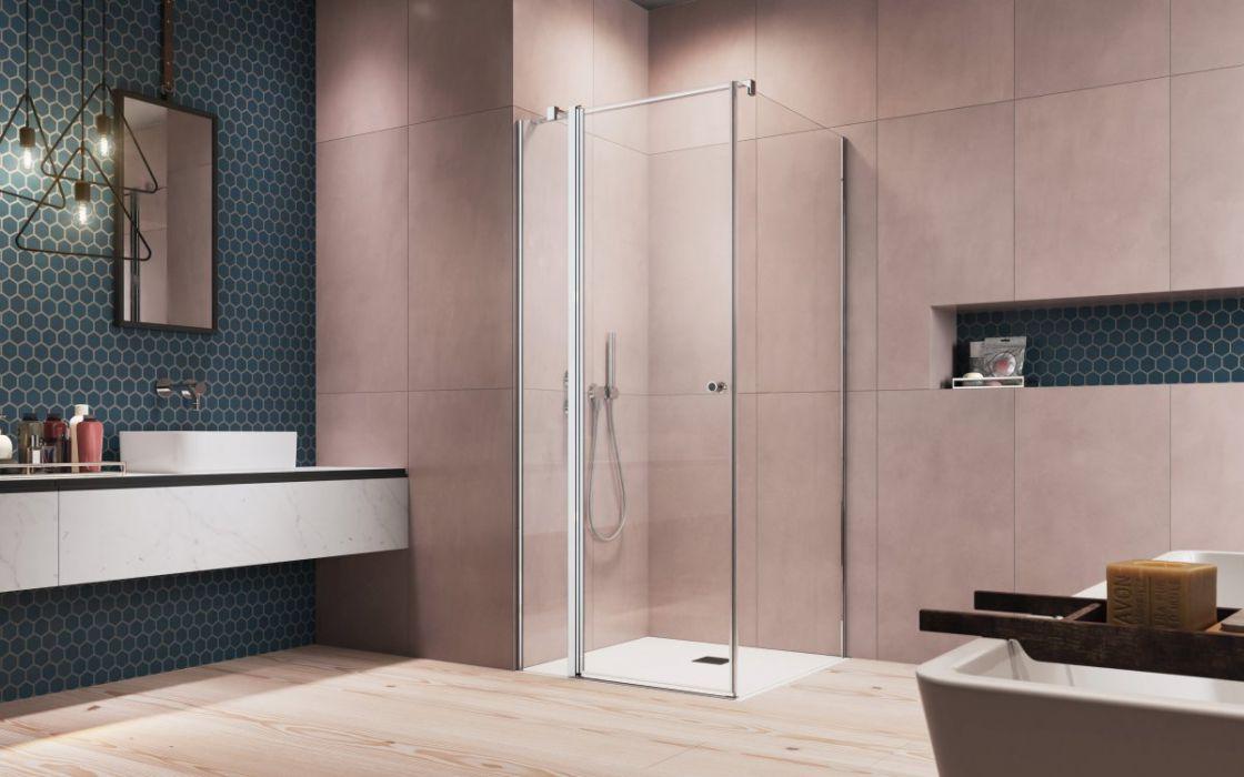 EOS KDJ II szögletes zuhanykabin