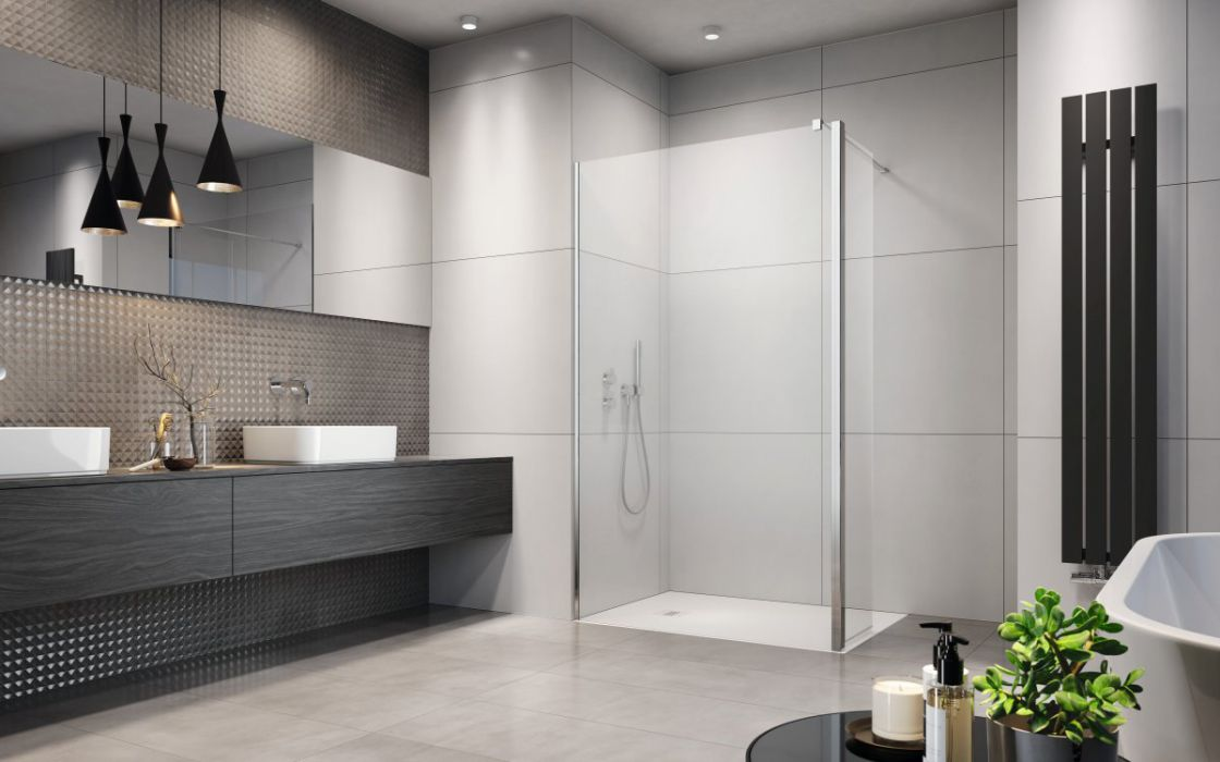 Eos Walk-in zuhanyfal