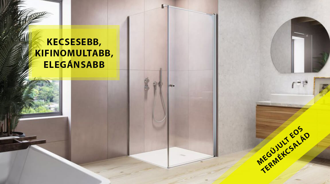 Ha új zuhanykabin, legyen EOS!